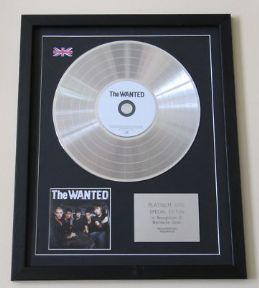 THE WANTED - The Wanted CD / PLATINUM LP DISC